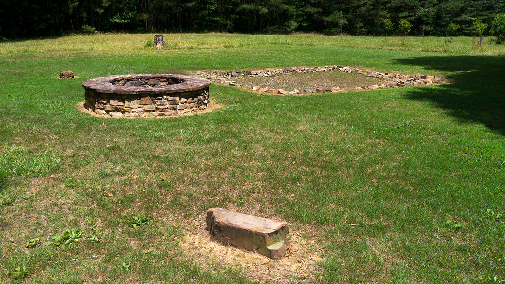The site of the Boudinot house at New Echota, Georgia is an historic landmark.