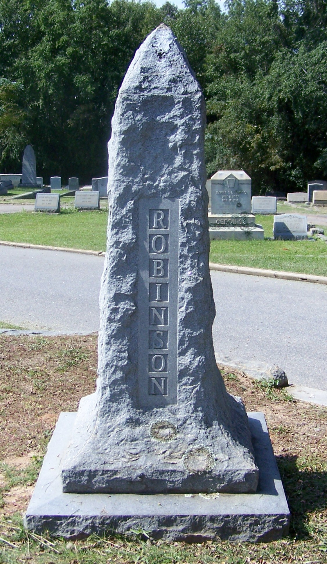 Robinson, William Childs gravestone photo.jpg