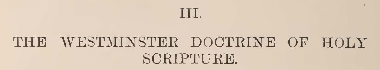 Warfield, Benjamin Breckinridge, The Westminster Doctrine of Holy Scripture Title Page.jpg