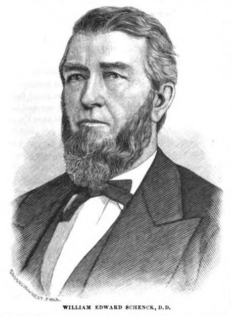 William Edward Schenck is buried at Princeton Cemetery, Princeton, New Jersey.