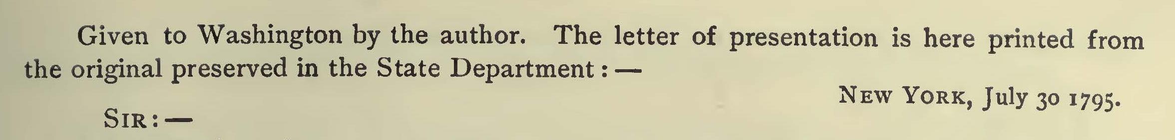 Miller, Samuel, July 30, 1795 Letter to George Washington Title Page.jpg