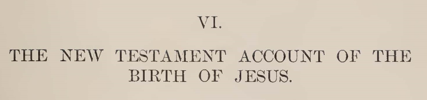 This 2-part article appeared in the October 1905 and January 1906 issues of  The Princeton Theological Review .