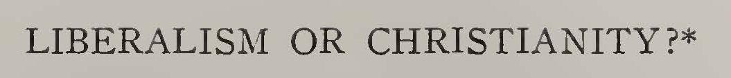 Machen, John Gresham, Liberalism or Christianity Title Page.jpg