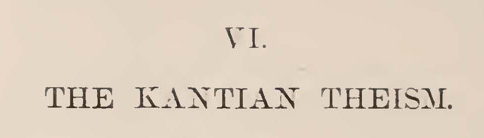 Hodge, Jr., Caspar Wistar, The Kantian Theism Title Page.jpg