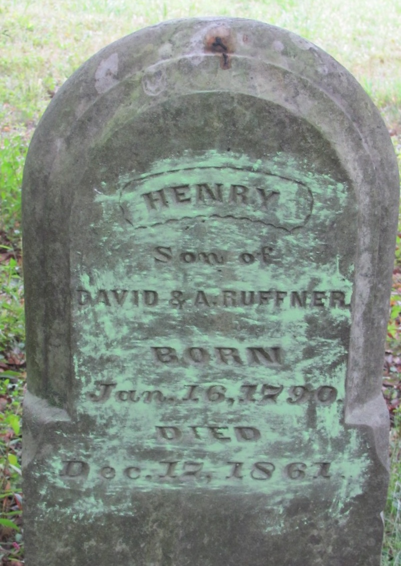 Henry Ruffner is buried in the Ruffner Family Cemetery, West Virginia.