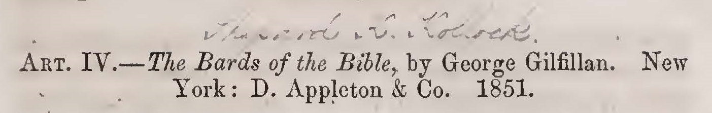 Kollock, Shepard Kosciuszko, The Bards of the Bible Title Page.jpg