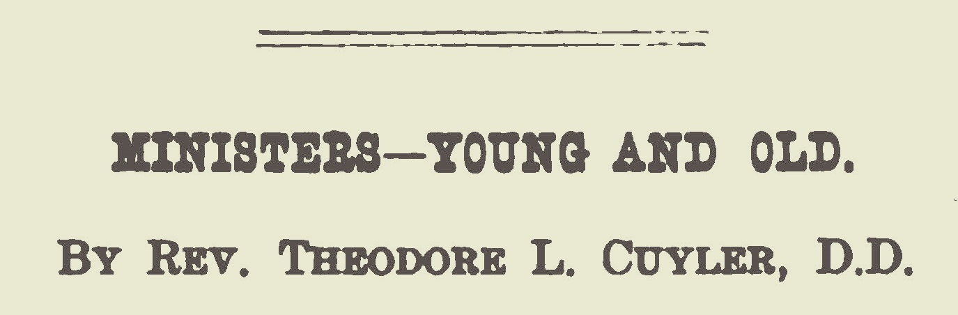 Cuyler, Theodore Ledyard, Ministers Young and Old Title Page.jpg
