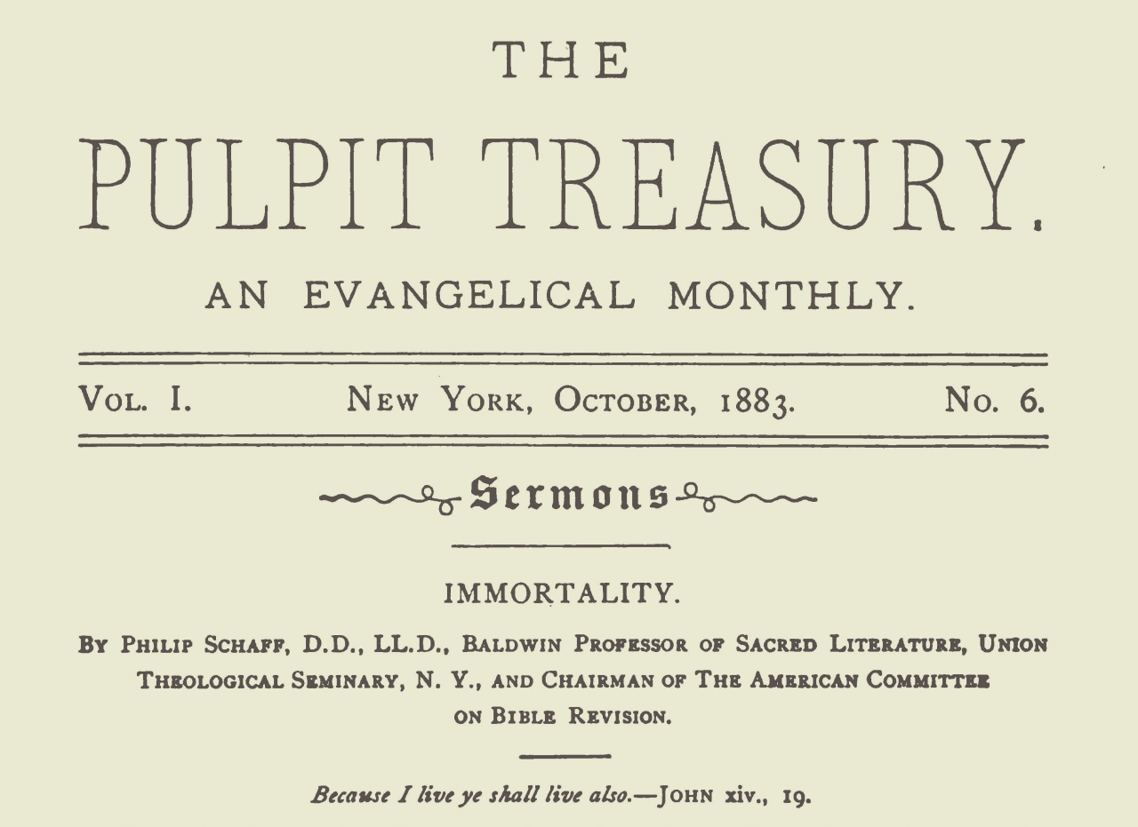 Schaff, Philip, Immortality Title Page.jpg