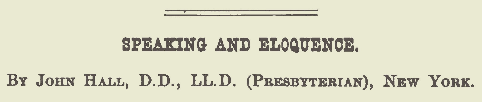 Hall, John, Speaking and Eloquence Title Page.jpg