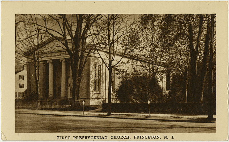 Judge Samuel Bayard, Esq. served as a ruling elder at the First (Nassau) Presbyterian Church of Princeton, New Jersey for 33 years.