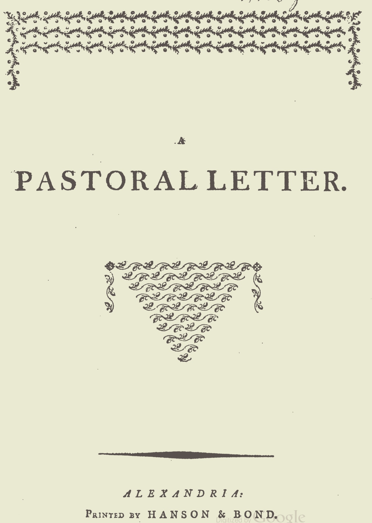 Muir, James, A Pastoral Letter Title Page.jpg