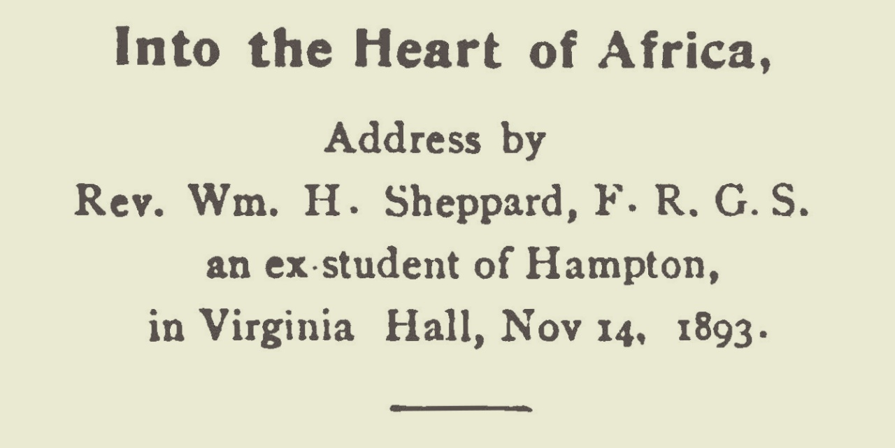 Sheppard, William Henry, Into the Heart of Africa Title Page.jpg