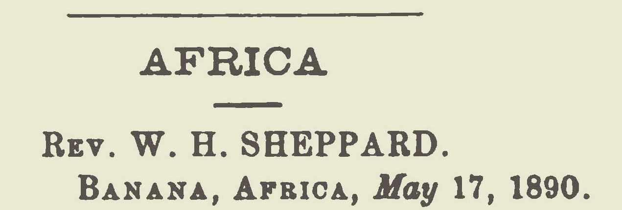 Sheppard, William Henry, Africa Title Page.jpg