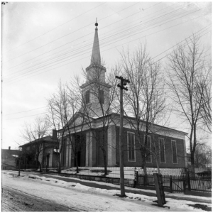 T.W. Hooper served as pastor of the Christiansburg, Virginia Presbyterian Church from 1865 to 1870 and from 1888 to 1906.