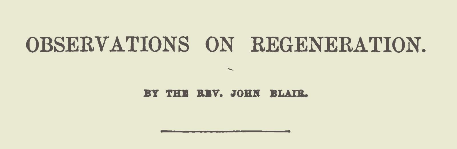 Blair, John, Observations on Regeneration Title Page.jpg
