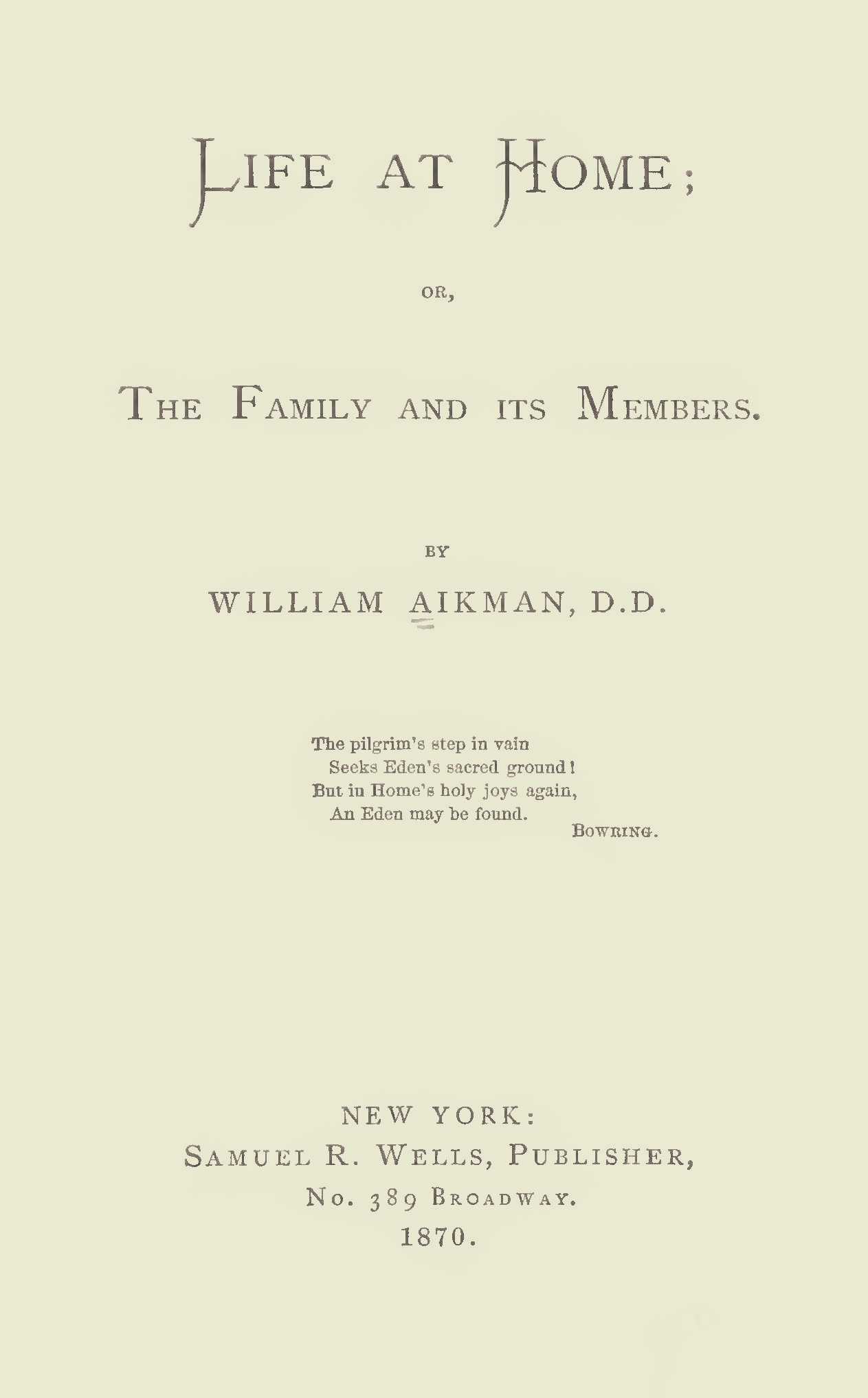 Aikman, William, Life at Home Title Page.jpg