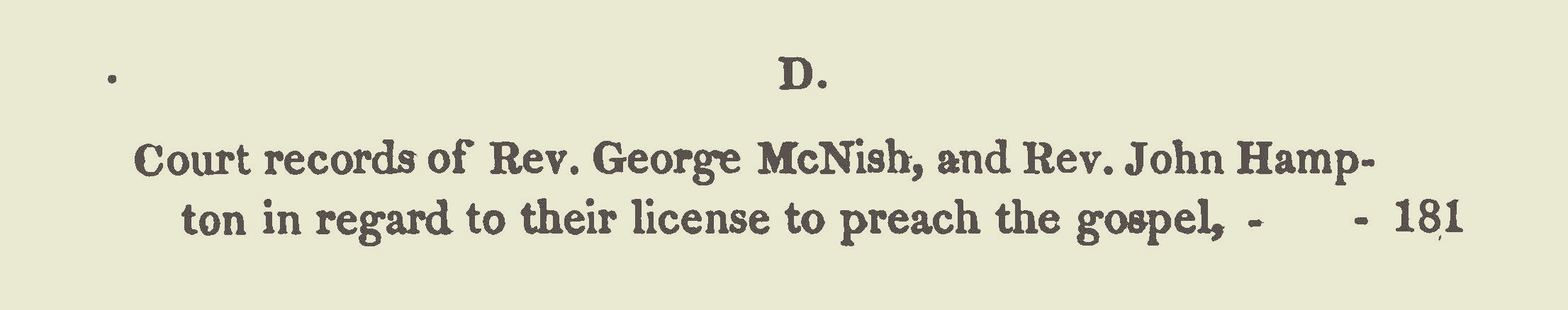 McNish, George, Petition to Take Dissenting Oath Title Page.jpg