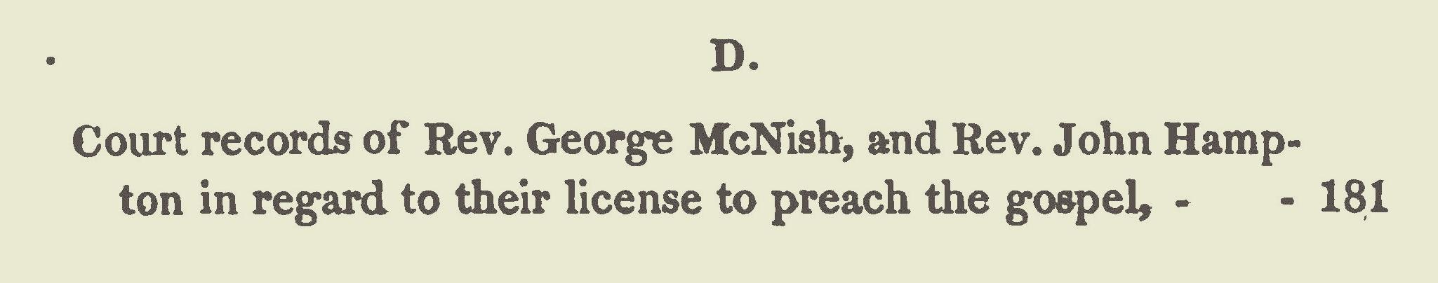 Hampton, John, Petition to Take Dissenting Oath Title Page.jpg