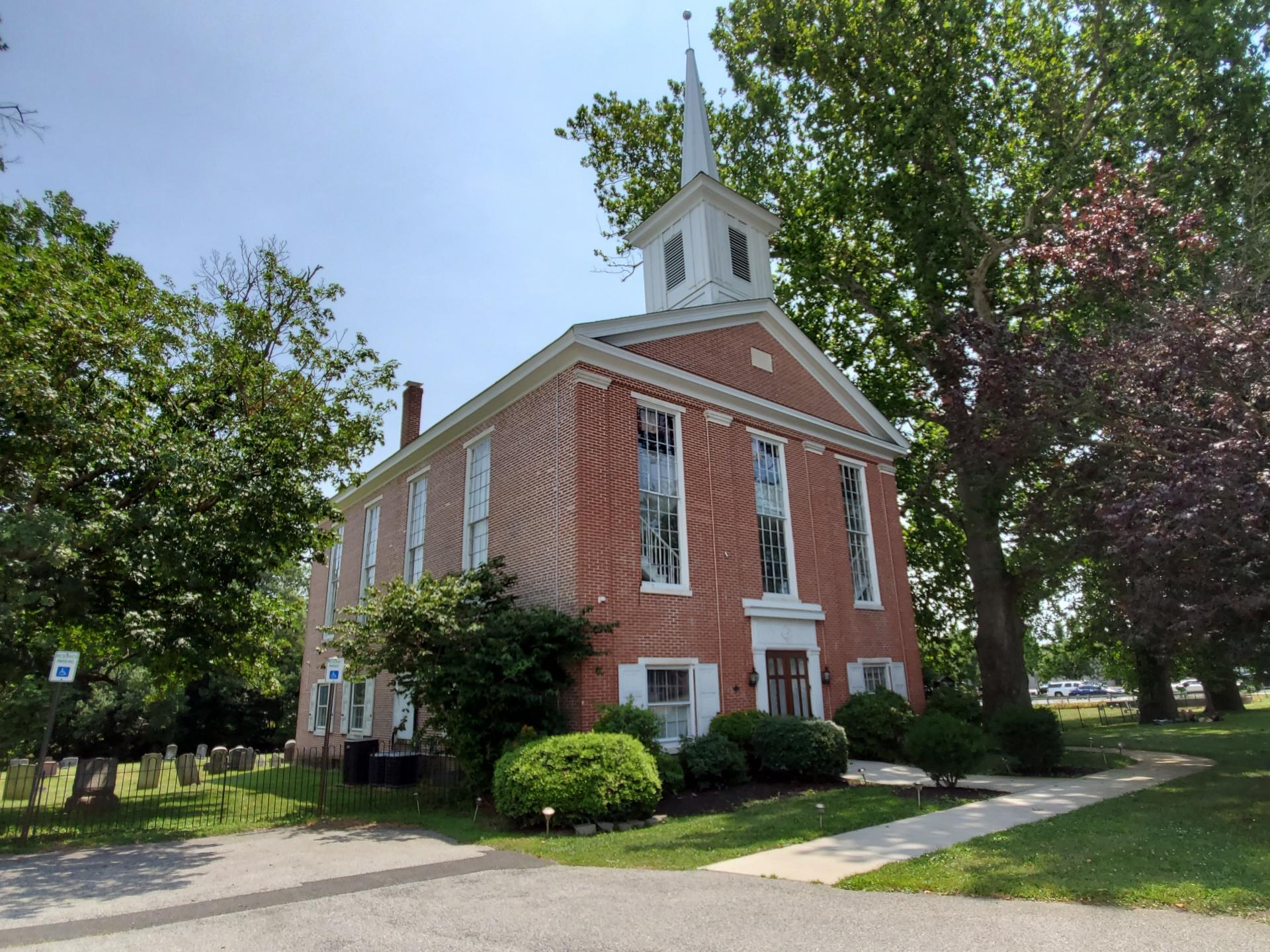 Pencader (Olivet) Presbyterian Church (originally founded 1707-1710; present building established in 1852) - photo credit: R. Andrew Myers