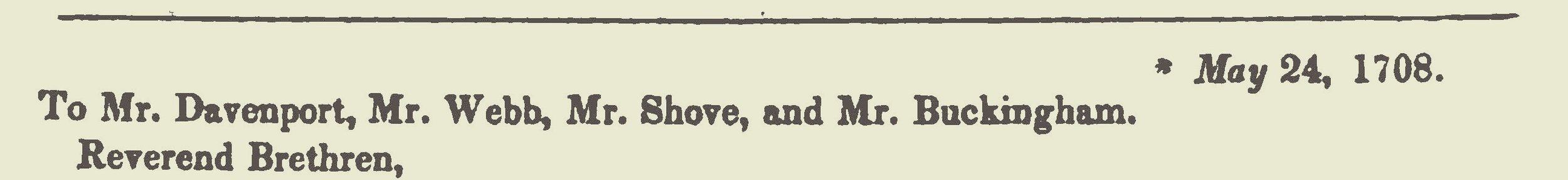 Hampton, John, 1708 Letter to Connecticut Title Page.jpg