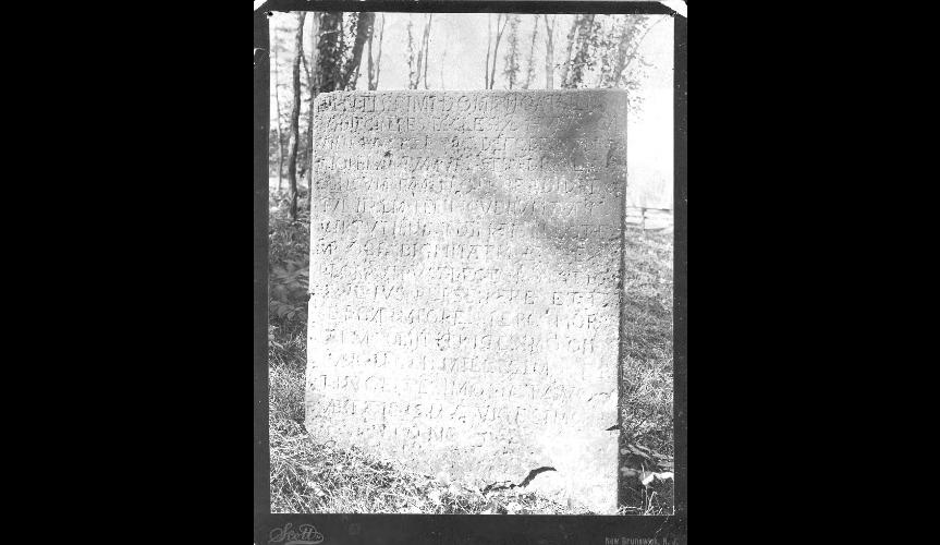 John Boyd's tombstone.