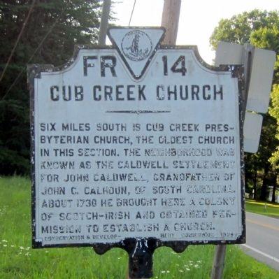 Robert Henry, Jr. served as pastor of the Cub Creek Presbyterian Church in Charlotte County, Virginia.