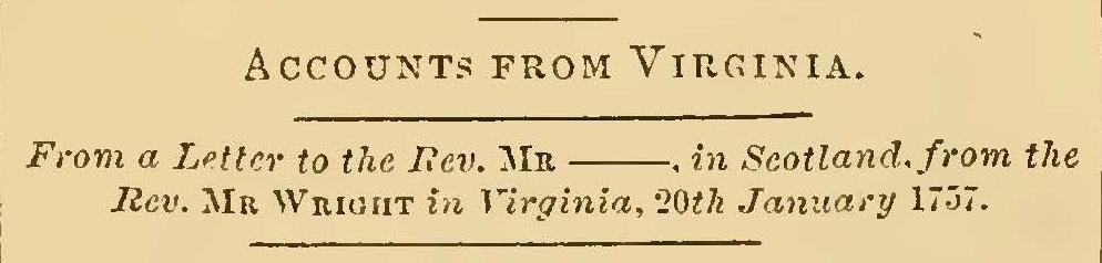 Wright, John, January 1757 Letter to John Gillies Title Page.jpg