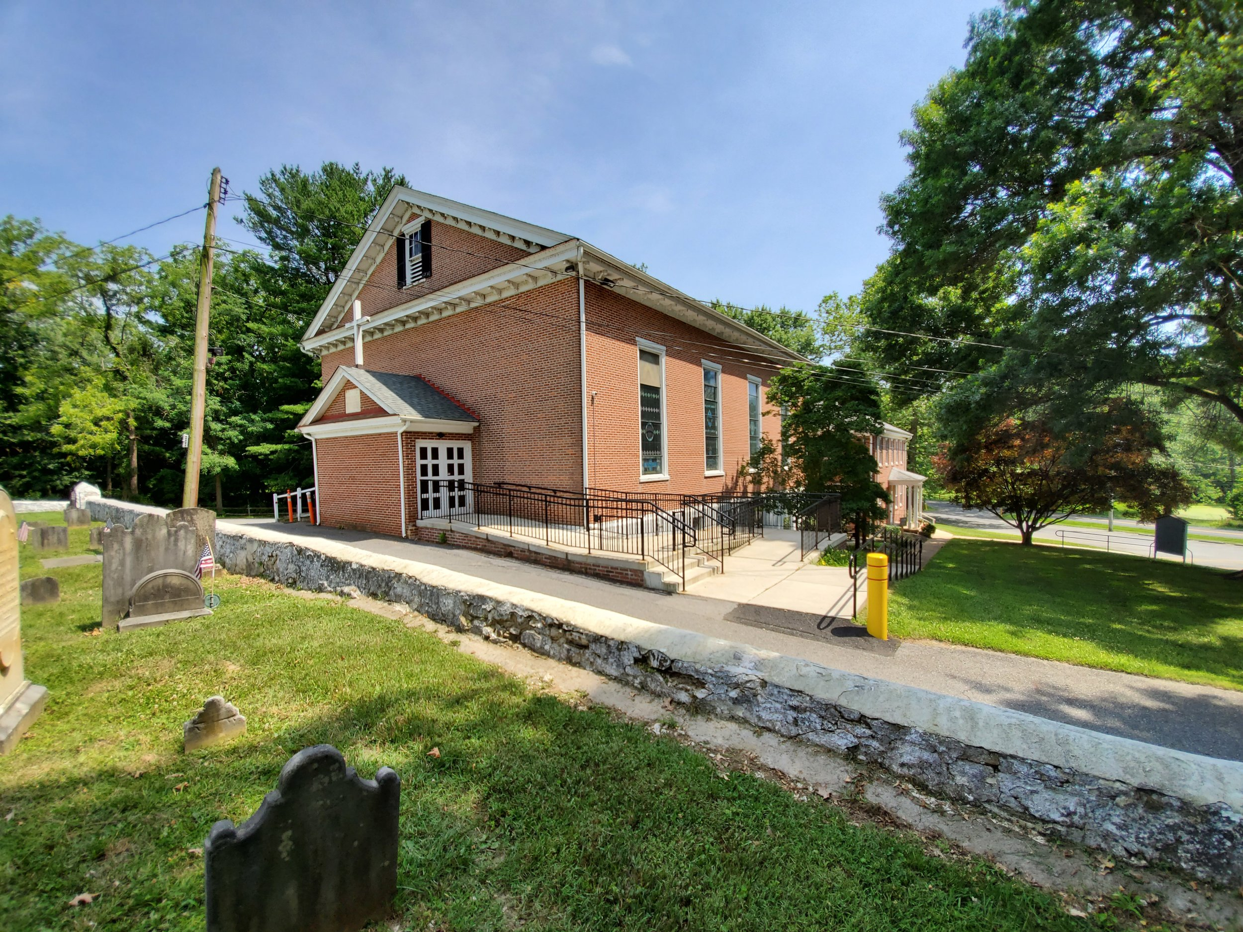 Head of Christiana Presbyterian Church, near Newark, Delaware, where George Gillespie served as pastor. Photo credit: R. Andrew Myers