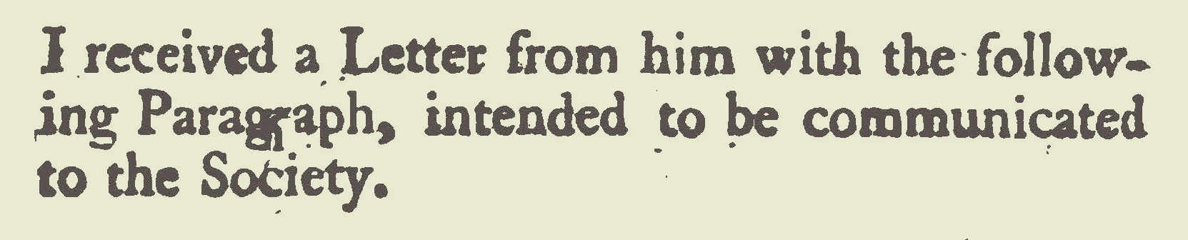 Extracted from the Letters of Samuel Davies.