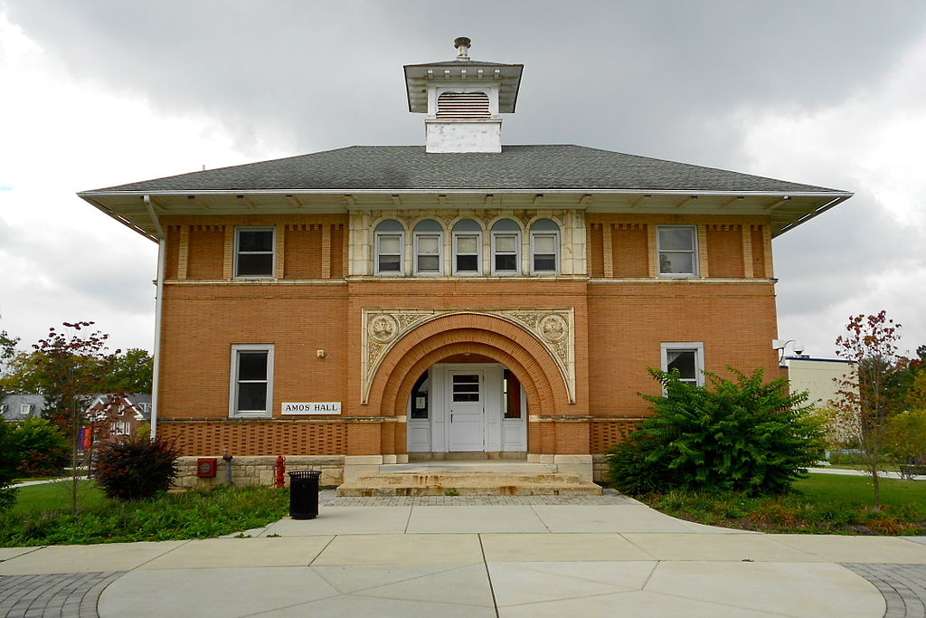 Amos Hall at Lincoln University in Oxford, Pennsylvania is named for brothers James Ralston Amos and Thomas Henry Amos.