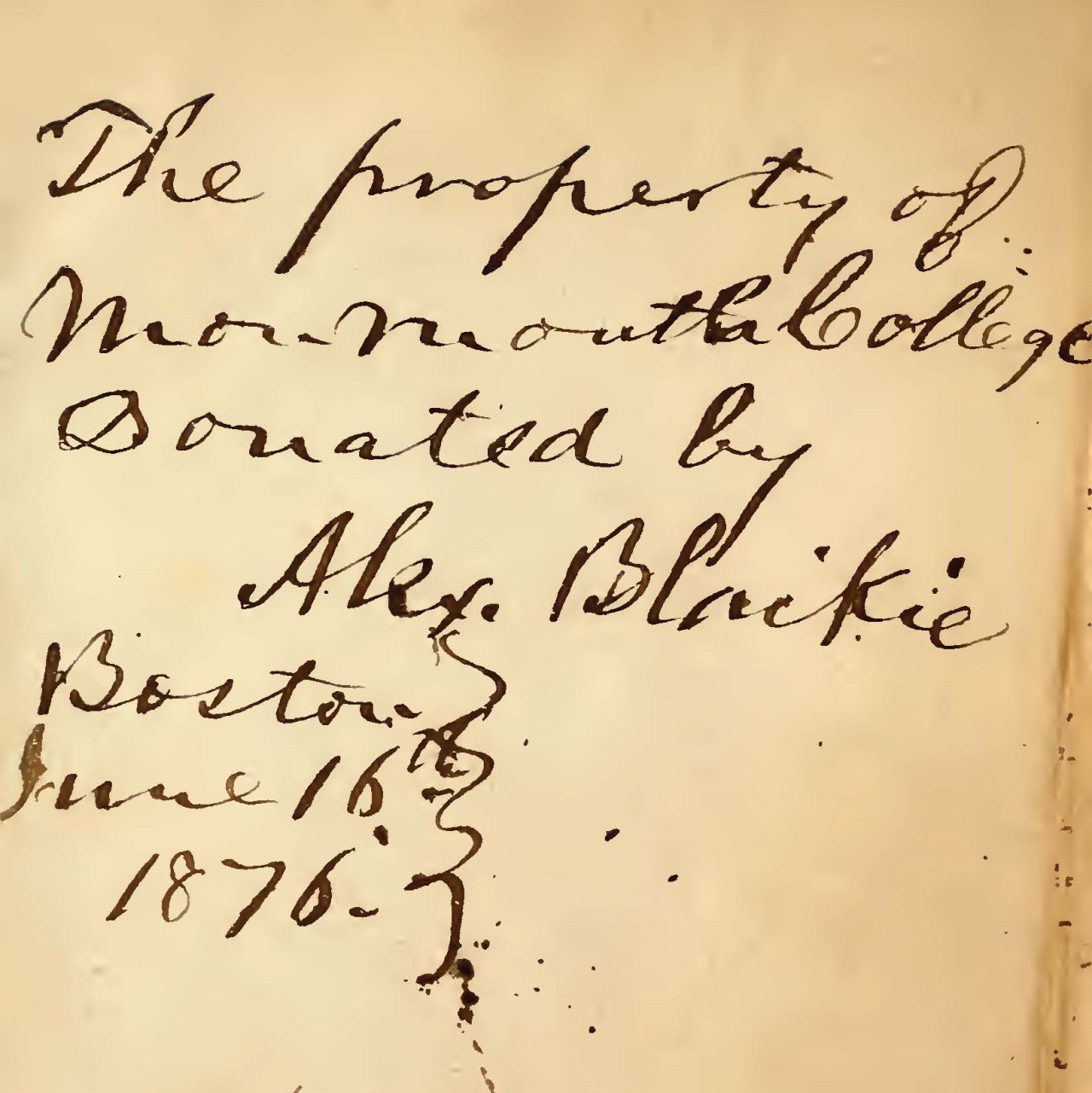 This diary covers the period between April 22 and August 31, 1835.