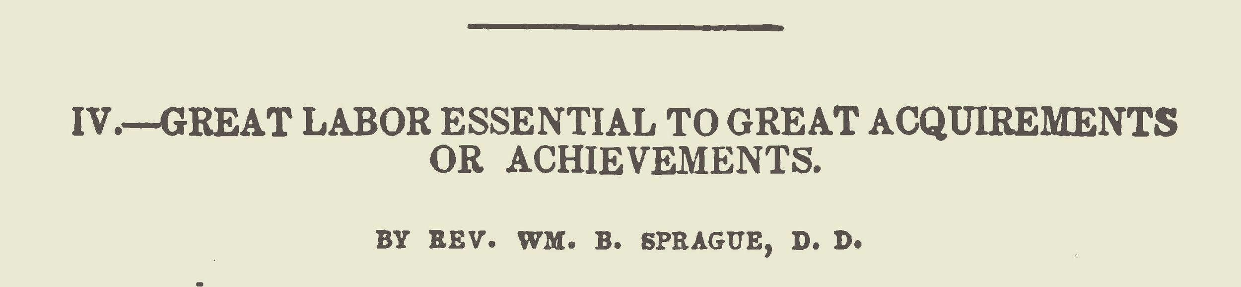 Sprague, William Buell, Great Labor Essential Title Page.jpg