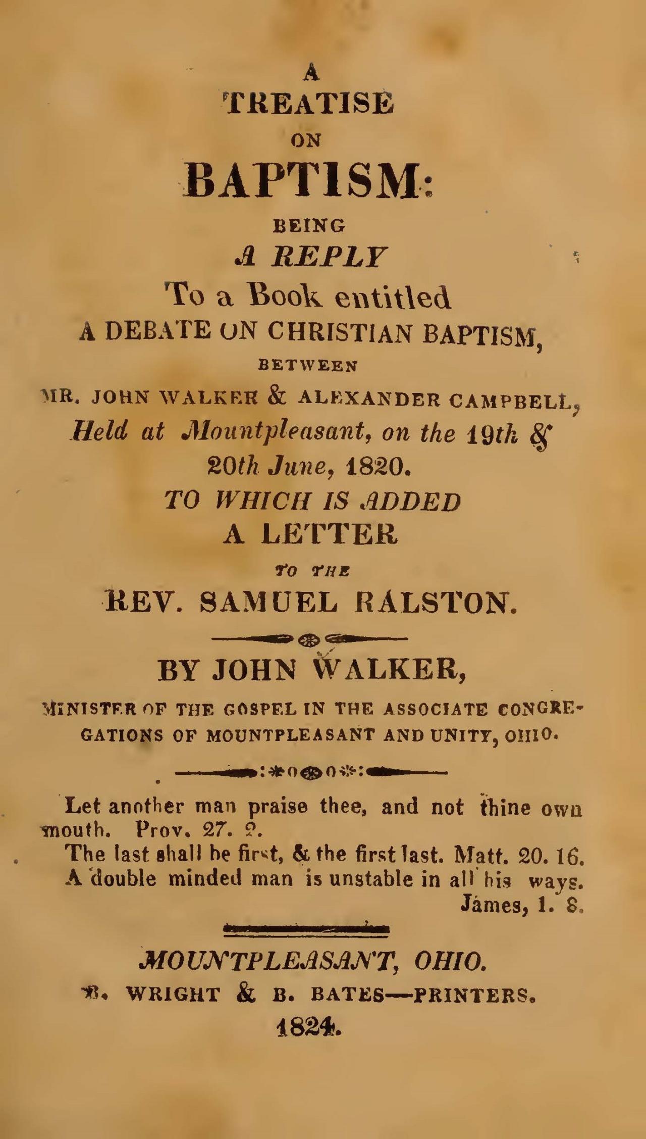 Walker, John, A Treatise on Baptism Title Page.jpg
