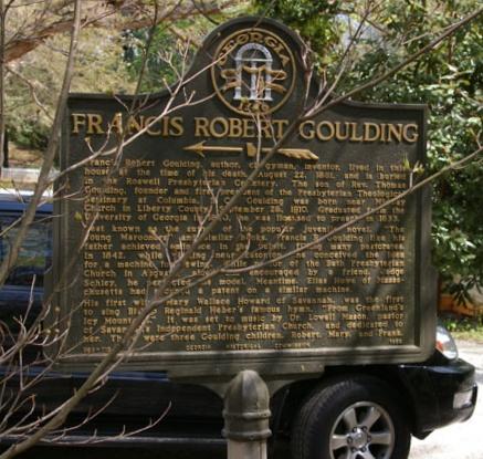 Goulding, Francis Robert Historical Marker.jpg
