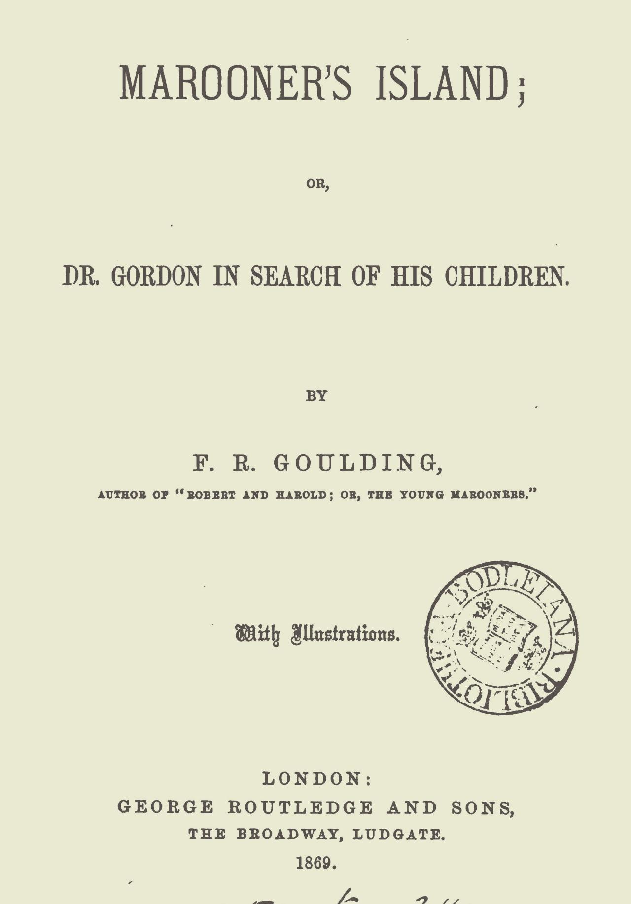 Goulding, Francis Robert, Marooner's Island Title Page.jpg