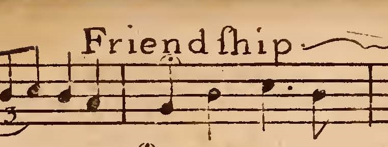 This composition is based on words by Isaac Watts and set to music by James Lyon. It is extracted from John Stickney,  The   Gentleman and Lady's Musical Companion.