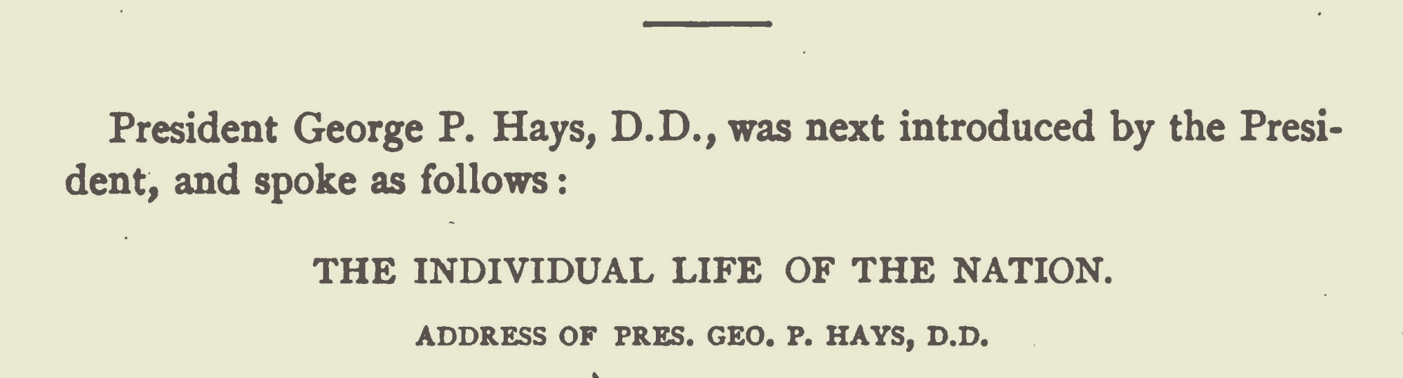 Hays, George Price, The Individual Life of the Nation Title Page.jpg