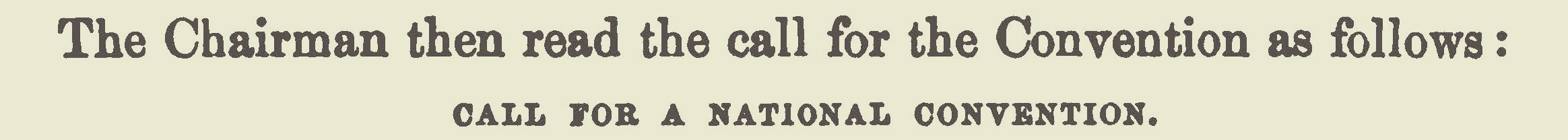 Strong, William, Call For a National Convention Title Page.jpg