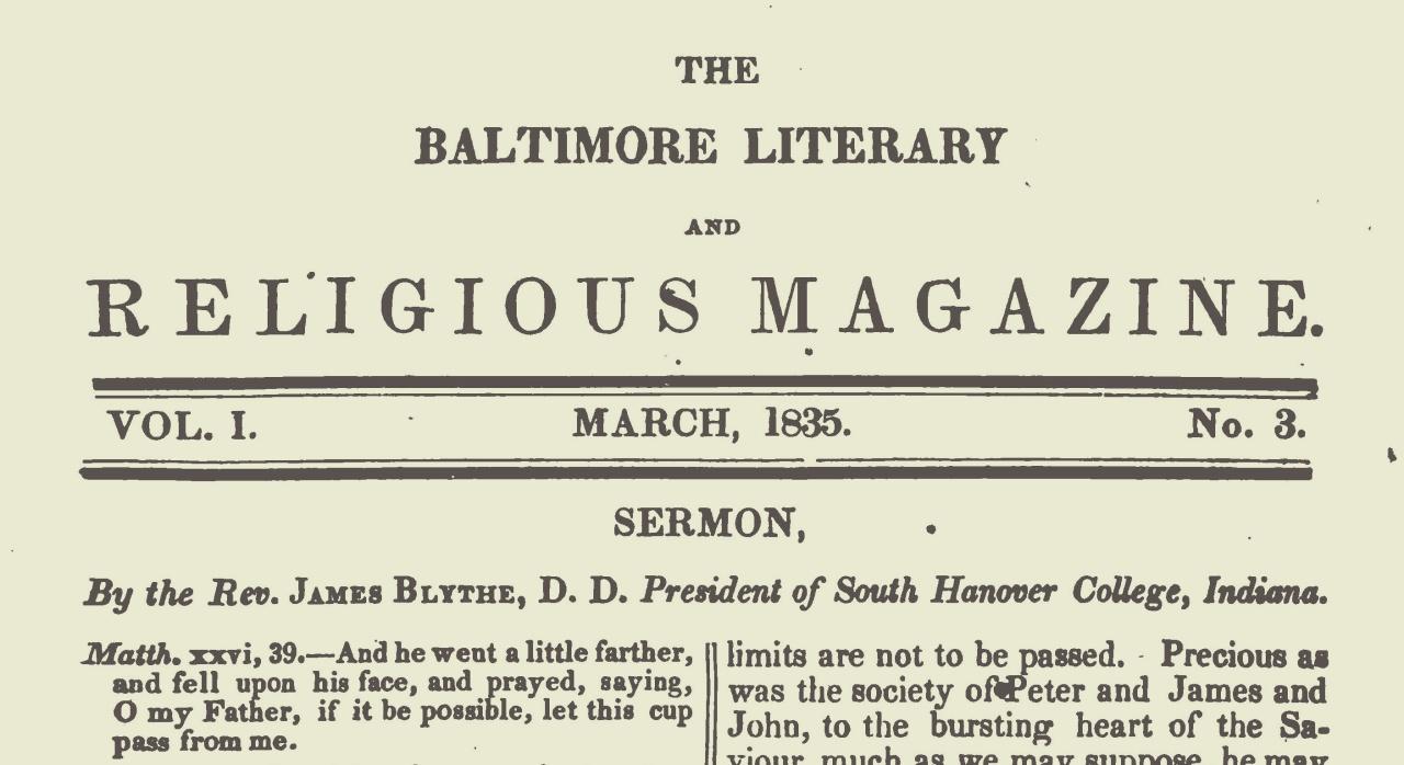 Blythe, James, 1835 Sermon Title Page.jpg