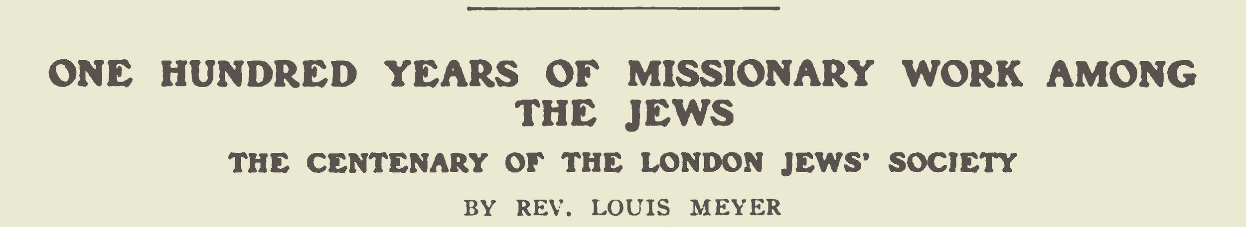 Meyer, Louis, One Hundred Years of Missionary Work Among the Jews Title Page.jpg