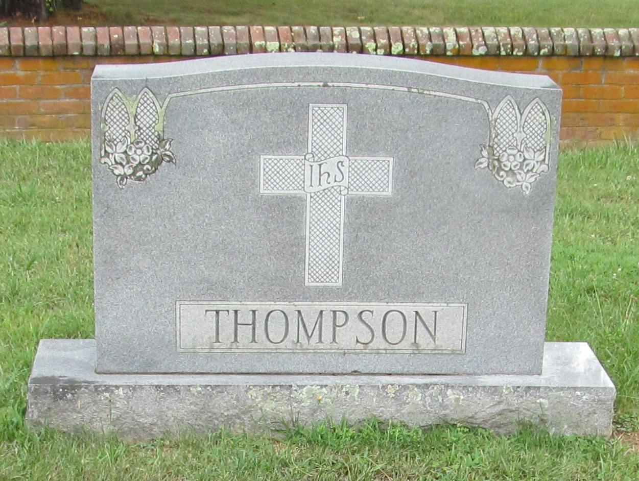Ernest Trice Thompson is buried at Union Theological Seminary Cemetery, Hampden Sydney, Virginia.