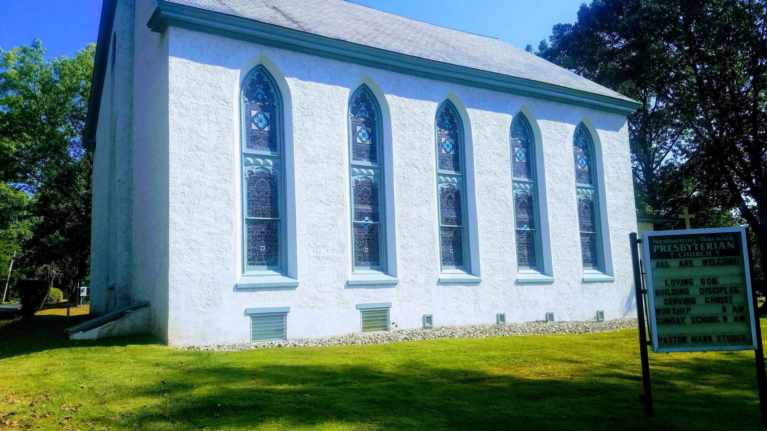 Neshaminy-Warwick Presbyterian Church (photo credit: R. Andrew Myers).
