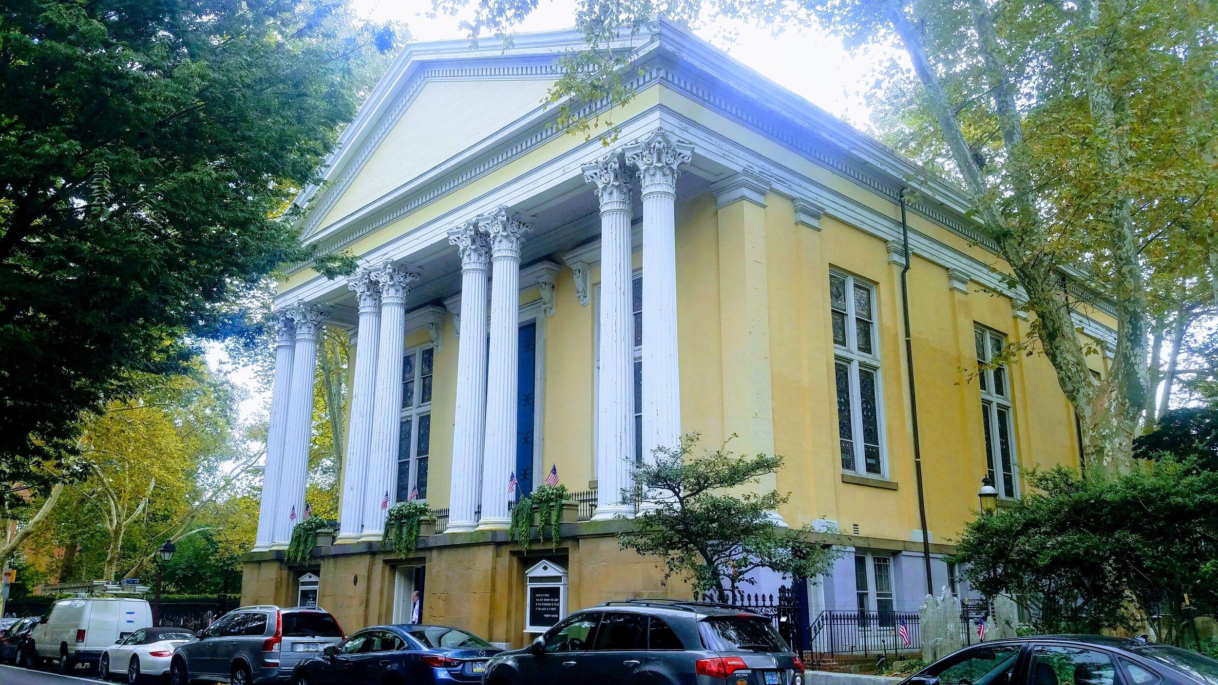 Old Pine Street Presbyterian Church, Philadelphia, Pennsylvania (photo credit: R. Andrew Myers).