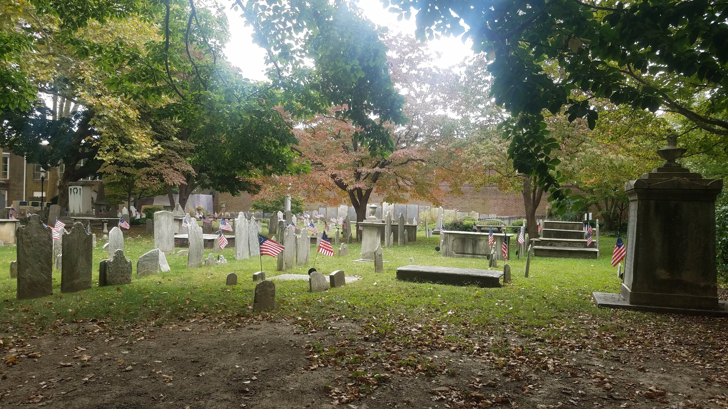 Old Pine Street Presbyterian Cemetery (photo credit: R. Andrew Myers).