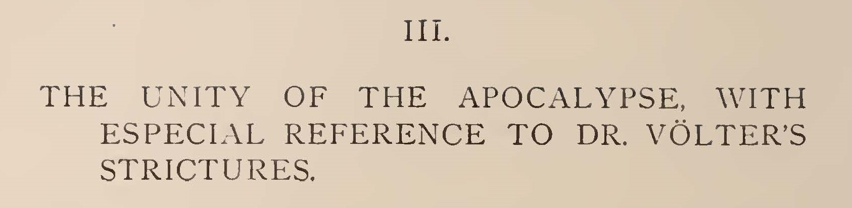 Warfield, Benjamin Breckinridge, The Unity of the Apocalypse Title Page.jpg