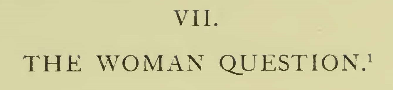Chaney, James McDonald, The Woman Question Title Page.jpg