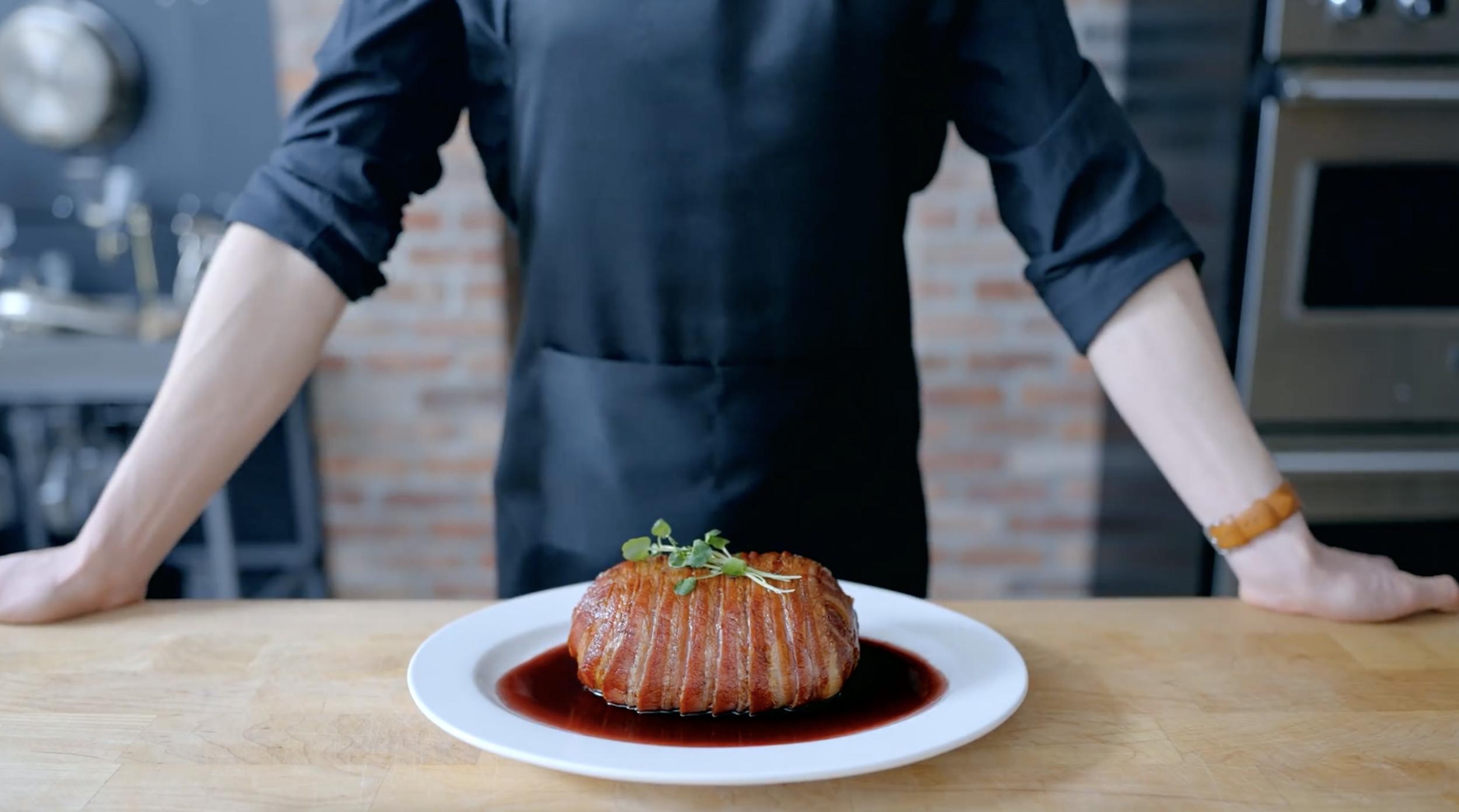 Gotcha Pork Roast Inspired By Food Wars Shokugeki No Soma Binging With Babish