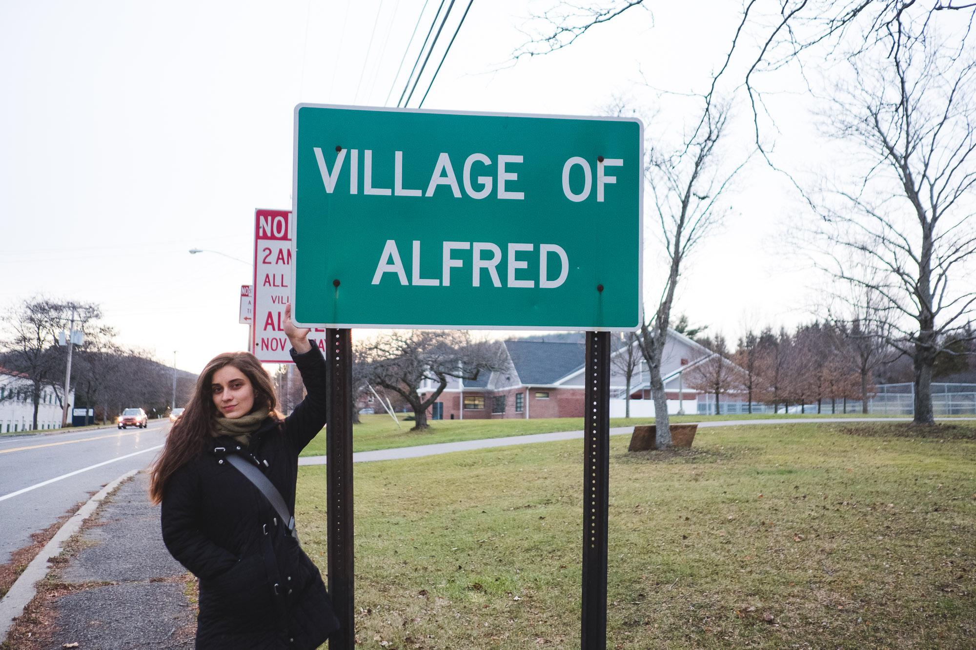 village-of-alfred-sign