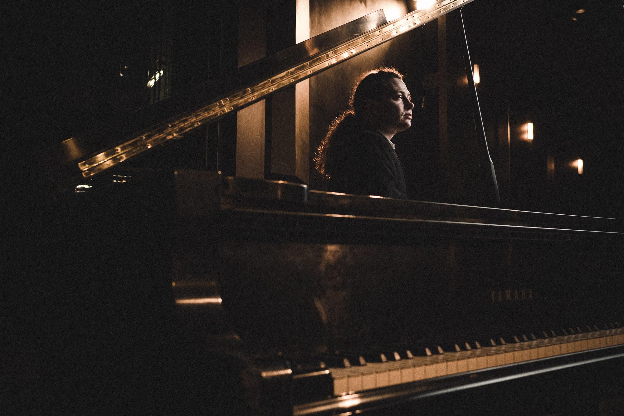 Gabriel Quenneville-Bélair, pianist