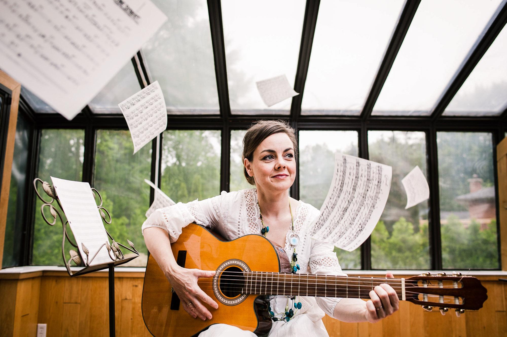 Heather White Luckow, musician